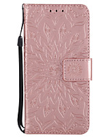 cheap -Case For Apple iPhone X iPhone 8 Card Holder Wallet with Stand Flip Pattern Full Body Cases Mandala Hard PU Leather for iPhone X iPhone 8