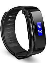 yy fx-3 intelligente bracciale bluetooth risposta auricolare chiamata anti-perso smart clock passometro musica ascolto fitness