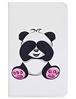 Panda Pattern Card Holder Wallet with Stand Flip Magnetic PU Leather Case for Samsung Galaxy TAB A 10.1 T580N T585N 10.1 inch Tablet PC
