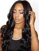 Women Human Hair Lace Wig Full Lace Wigs 180% Density Body Wave Wigs Indian Hair Black Long