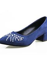 Femme Chaussures Vrai cuir Daim Cuir Nappa Matières Personnalisées Autre Peau d'Animal Printemps Automne Confort Semelles Légères
