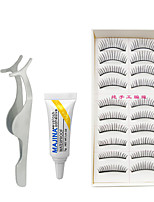 Eyelashes lash Full Strip Lashes Eyes Universal Natural Long Fiber Black Band
