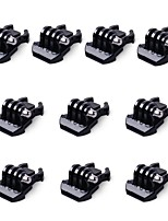 10x Buckle Clip Basic Mount for GoPro Accessories for GoPro Hero 5 4 3 2 1 Black Silver Session SJCAM SJ4000 SJ5000 SJ6000 Camera
