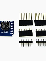 RTC DS1307 (Real Time Clock)  Battery - Shield for WeMos D1