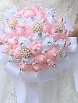 Fleurs de mariage Bouquets Cérémonie de mariage Soie Env.22cm