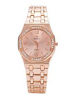 Per donna Orologio alla moda Orologio da polso Quarzo Lega Banda Fantastico Casual Di lusso classe Argento Oro Oro rosa