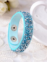 Femme Bracelets en cuir Bracelet Mode Cuir Bijoux Pour Mariage Décontracté