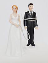 Cake Topper Classic Couple Plastic Wedding Party Beach Theme Garden Theme Butterfly Theme Butterly Theme Classic Theme Wedding Birthday