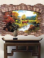 Animali Adesivi murali Adesivi aereo da parete Adesivi 3D da parete Adesivi decorativi da parete,Vinile Materiale Decorazioni per la casa