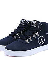 Men's Shoes Fleece Fall Winter Light Soles Sneakers For Casual Outdoor Coffee Dark Blue Black