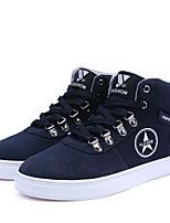 Men's Shoes Fleece Fall Winter Light Soles Sneakers For Casual Outdoor Coffee Dark Blue Black