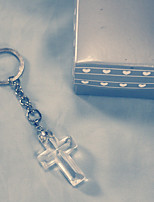 Cross Key Chain Baby Baptism Party Favors Beter Gifts® DIY Baby Baptism Favour