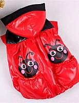 Hund Weste Hundekleidung Lässig/Alltäglich Kartoon Zufällige Farben