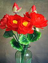 1 Une succursale Plastique Plantes Fleur de Table Fleurs artificielles