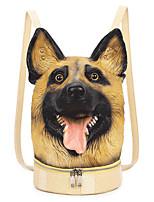 Women Bags All Seasons PU Backpack Zipper for Casual Traveling Yellow