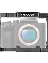 andoer videocamera protettiva per videocamera con stabilizzatore gabbia con manico superiore per videocamera sony a7iii a7rii a7sii ildc