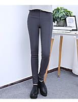 Men's Women's Medium Solid Color Legging,Solid