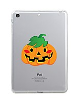 Para iPad (2017) Carcasa Funda Transparente Diseños Cubierta Trasera Funda Transparente Halloween Suave TPU para Apple iPad (2017) iPad