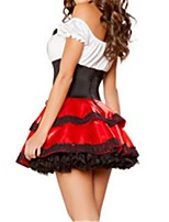 Princess Fairytale Maid Costumes One-Piece/Dress Adults' Halloween Festival/Holiday Halloween Costumes Vintage
