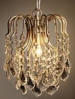 Corridor Crystal Droplight Porch Restaurant Bedroom Small Pendant Contracted Lobby Bar Cloakroom Clothing Store Lights