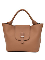 Women Bags All Seasons PU Tote Zipper for Casual Outdoor Black Beige Gray Brown