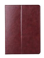 para la caja del caso de la cubierta de la cubierta del portatarjetas del tirón de la carpeta el dormir / despierta el cuero completo de