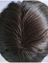 Men Toupee 2# Color Natural Hairline Human Hairpiece for Men