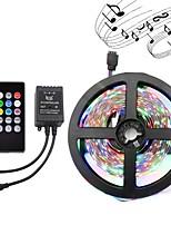 Licht bar Set 5 Meter 3528 Licht bar 300led dc12v wasserdicht flexible LED Licht rgb mit Musik-Controller