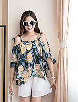 Women's Casual/Daily Simple Tank Top,Print Strap Sleeveless Others