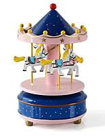 Scatola musicale Giocattoli Cavallo Carosello Plastica 1 Pezzi Non specificato Compleanno Regalo