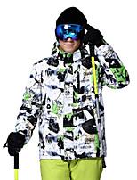 Top Terylene Piume Abbigliamento da neve Abbigliamento invernale Sci Campeggio e hiking Sci alpino Snowboard Vestiti invernali