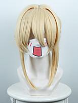 Perruques de Cosplay Cosplay Cosplay Manga Perruques de Cosplay 60 CM Fibre résistante à la chaleur Féminin