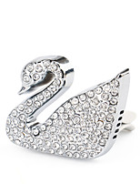 Car Air Conditioning Vent Swan Shape Diamond Fashion Style Perfume Outlet Clip Car Interior Accessories