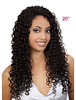 Women Human Hair Lace Wig Brazilian Human Hair Full Lace Glueless Full Lace 130% Density With Baby Hair Jheri Curl Wig Black Short Medium