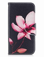 abordables -Coque Pour Apple iPhone X / iPhone 8 Portefeuille / Porte Carte / Avec Support Coque Intégrale Fleur Dur faux cuir pour iPhone X / iPhone 8 Plus / iPhone 8