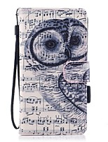 For Case Cover Card Holder Wallet with Stand Flip Magnetic Pattern Full Body Case Owl Hard PU Leather for Samsung Galaxy J5 (2016) J5