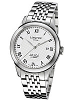 Men's Mechanical Watch Automatic self-winding Calendar Water Resistant / Water Proof Alloy Band Silver