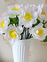 1 Branch Plastic Plants Tabletop Flower Artificial Flowers