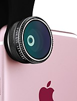 YKCLOUD Smartphone Camera Lenses 0.65X Wide Angle Lens 2X Long Focal Lens 10X Macro Lens Fish-eye Lens CPL for ipad iphone Huawei xiaomi samsung