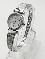 Women's Fashion Watch Bracelet Watch Casual Watch Quartz Alloy Band Vintage Casual Silver