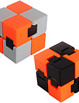 2Pc Fidget Infinity Cube Finger Hand Top Infinite Square Magic Cube EDC ADD ADHD Anti Anxiety Stress Reliever