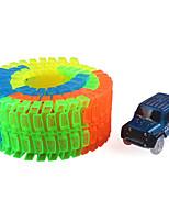 Набор для творчества Трек вагоностроительный Игрушечные машинки Классическая машинка Игрушки Новинки Фосфоресцирующий Своими руками Для