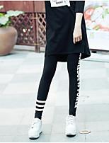 Damen Solide Einfarbig Bedruckt Legging