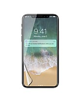 PET Screen Protector for Apple iPhone X Front Screen Protector High Definition (HD)