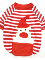 Dog Sweatshirt Dog Clothes Christmas Reindeer Red