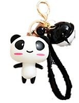 Dolls Key Chain Toy Cars Toys Duck Animals Bear Panda Key Chain Unisex Pieces