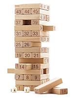 DIY KIT Building Blocks Board Game Educational Toy Stacking Games Toys Rectangular Square Pieces Boys Girls Gift