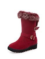 Femme Chaussures Cuir Matières Personnalisées Hiver Nouveauté Bottes de neige Bottes Cavalières Bottes à la Mode boîtes de Combat