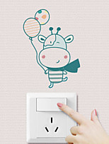 Tiere Wand-Sticker Flugzeug-Wand Sticker Dekorative Wand Sticker Stoff Haus Dekoration Wandtattoo