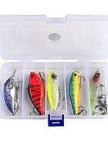 10 pc Kit da pesca Confezioni di esche g/Oncia mm pollice,Acciaio al carbonio Pesca di mare Pesca a mulinello Pesca a ghiaccio Pesca di